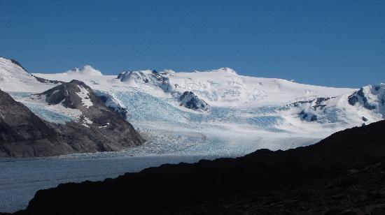 Glacier Grey: Glaciar Grey hacia el Campo de Hielo