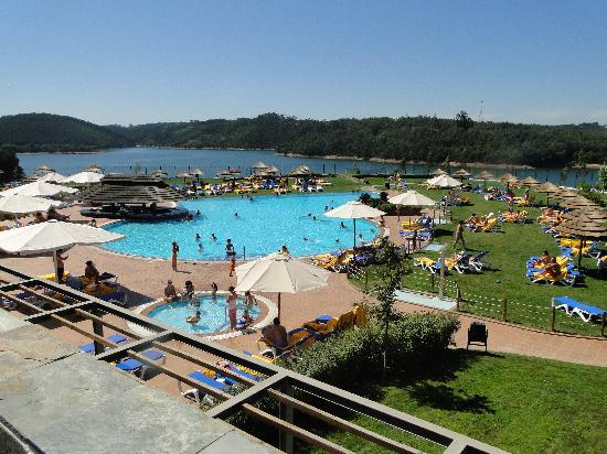 Vista da piscina da entrada da recep o billede af for Entrada piscina