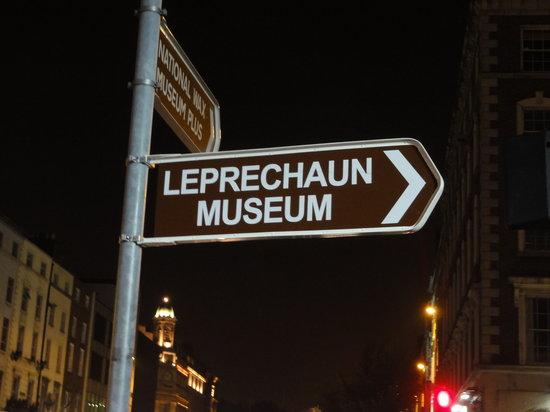 National Leprechaun Museum: Direction to it