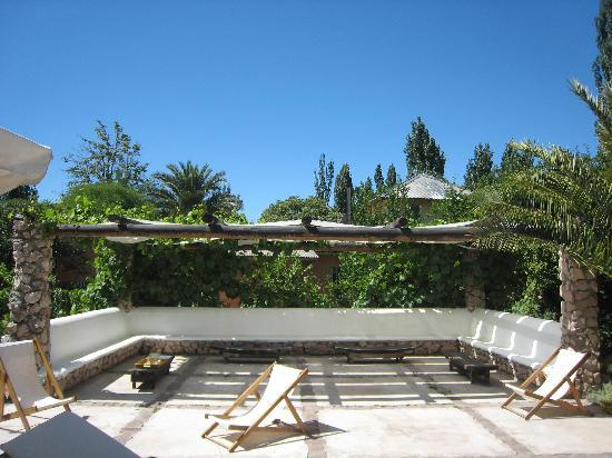 Finca Adalgisa Wine Hotel, Vineyard & Winery: Poolside