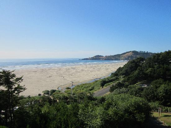 Best Western Agate Beach Inn: The view from our room
