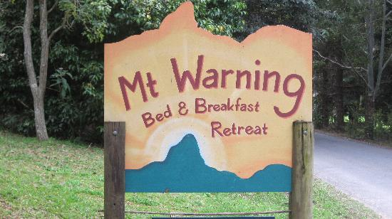 Mt Warning Bed and Breakfast Retreat: This Is The Place To Stay