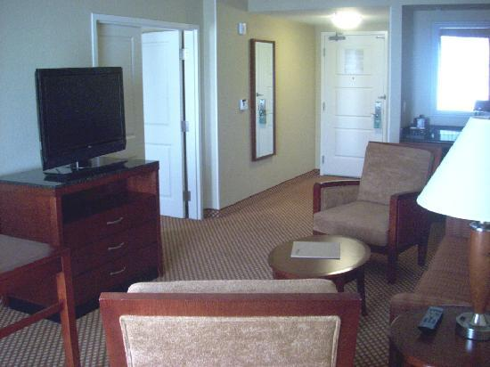 Hilton Garden Inn Palm Beach Gardens: Living room