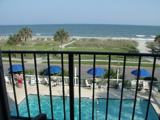 View From Our Room Picture Of Cabana Ss Hotel Myrtle Beach