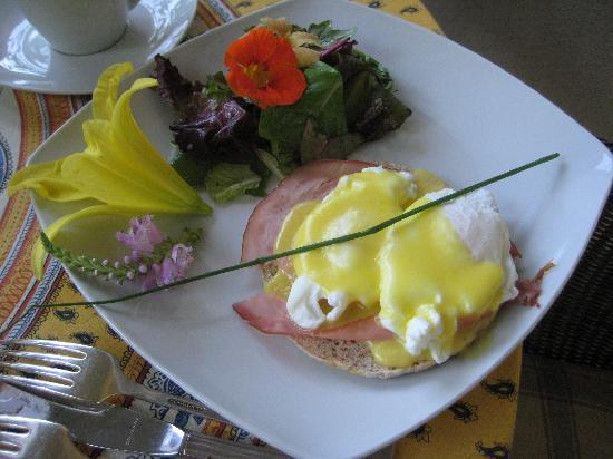 Wine Country Bed & Breakfast: breakfast at Wine Country B and B