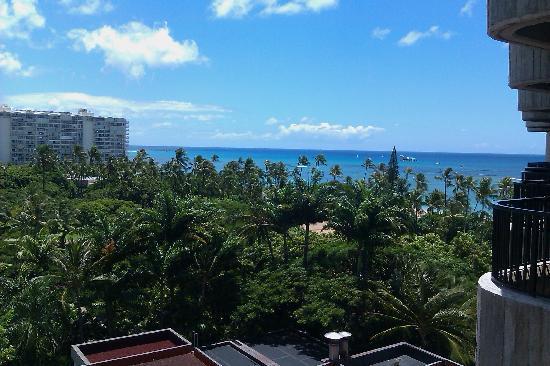 Hale Koa Hotel: View from Balcony #1