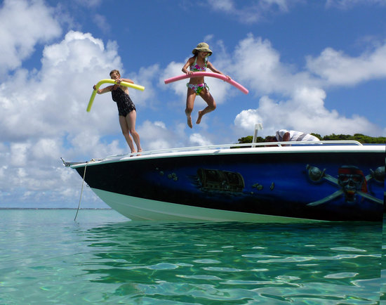 Soualiga Destinations Boat Tours : French Natural Reserve