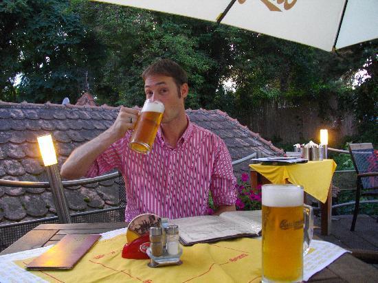 U Zlate Hrusky Restaurant: In the Garden