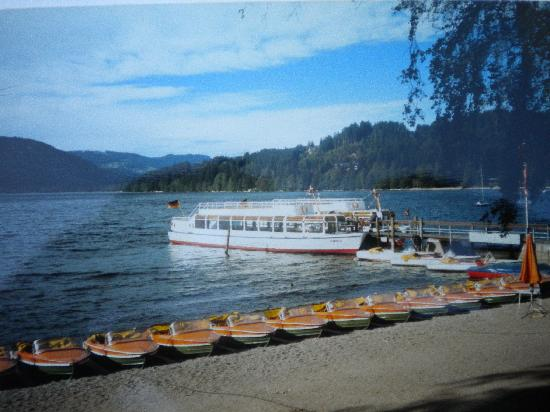 Titisee-Neustadt, Alemania: boating on Lake Titi