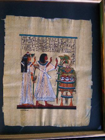 Papyrus Institute : delicate, beautiful workmanship - still the same vibrant colors as when bought
