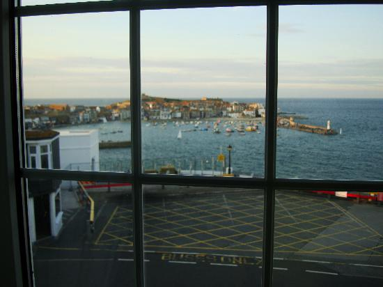 The Rookery Guest House St. Ives: View from room window