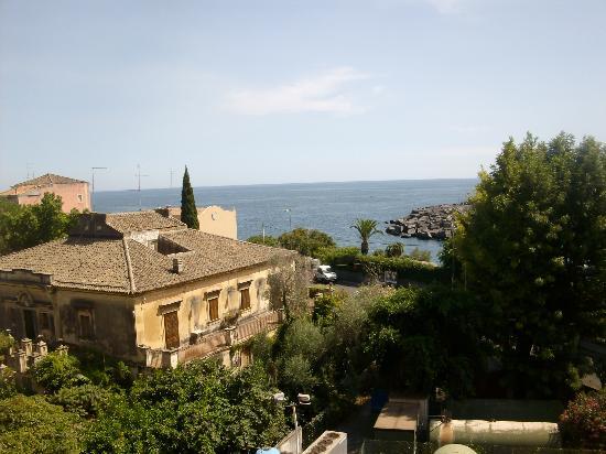 Hotel Ognina Catania: camera vista mare....suggestivo!