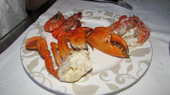 Boneka Restaurant at The St. Regis Bali Resort: seafood