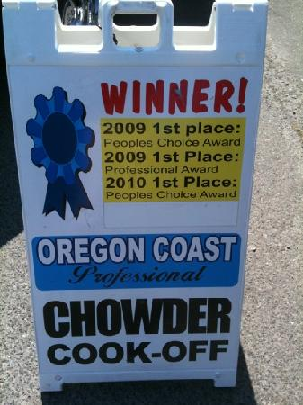 Sporthaven Marina Bar And Grill : Award winning clam chowder
