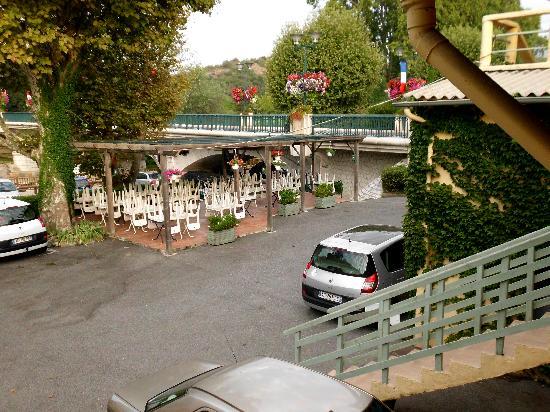Hotel O Villagio: Parkplatz
