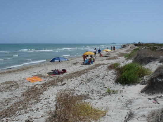 San Pedro del Pinatar, Spanien: La Llana Beach/ Playa de la Llana