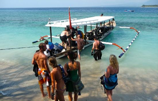 Manta Dive Gili Air: ready to go..