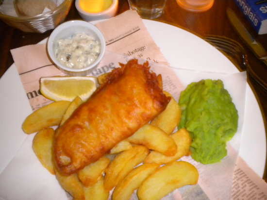 The Narrow: Fish & chips