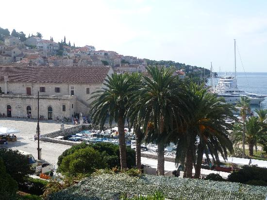 Hotel Park Hvar: View from our lovely room