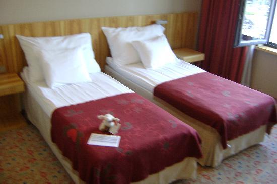 Hotel Euroopa: Les lits