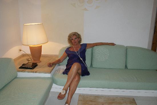Resort Cala di Falco: salotto ..