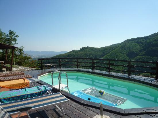 Agriturismo Barbicaio : view over the pool