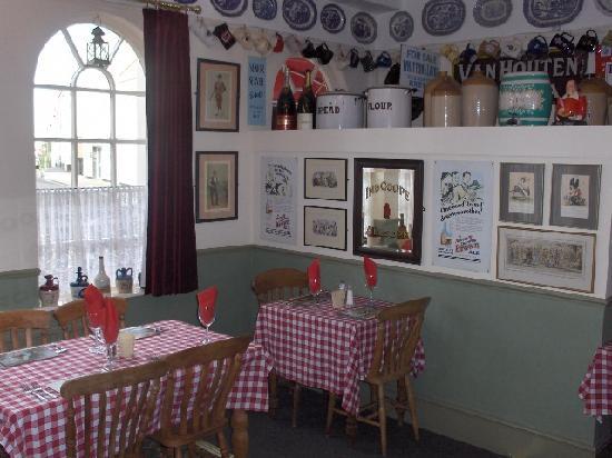 Memories Bistro: The main restaurant