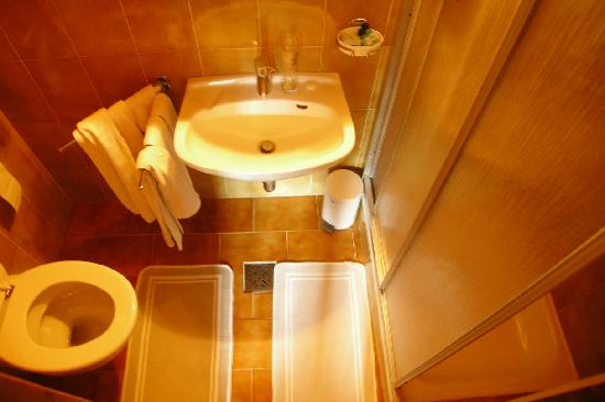 Hotel Sterzinger Moos : bagno stanza