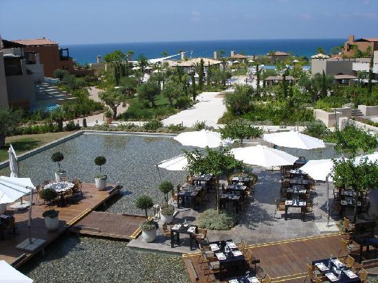 Messenia Region, Yunani: breakfast area
