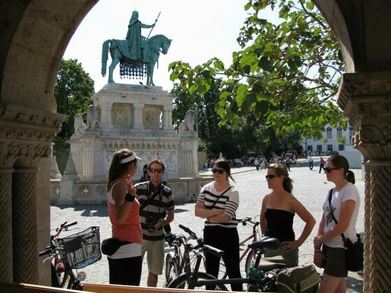 Budapest Bike Breeze: At Fisherman's Bastion