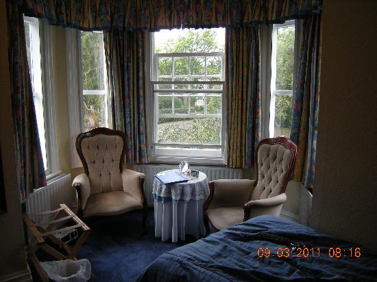 The Lawn Guest House: Room one has views to the front