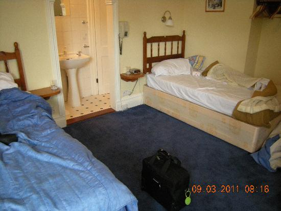 The Lawn Guest House: Room one spacious twin with ensuite