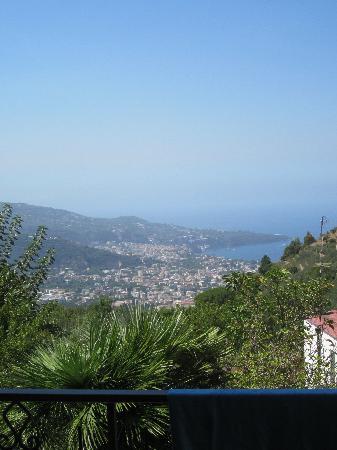 Villa Federica : il panorama