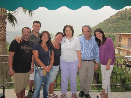 Villa Federica : noi con Franco e Rosa