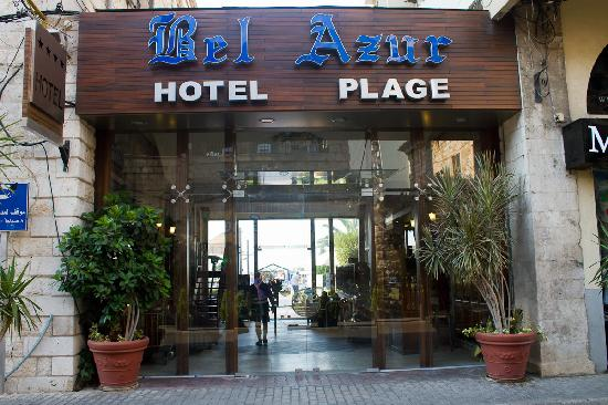 Bel Azur : Hotel Entrance