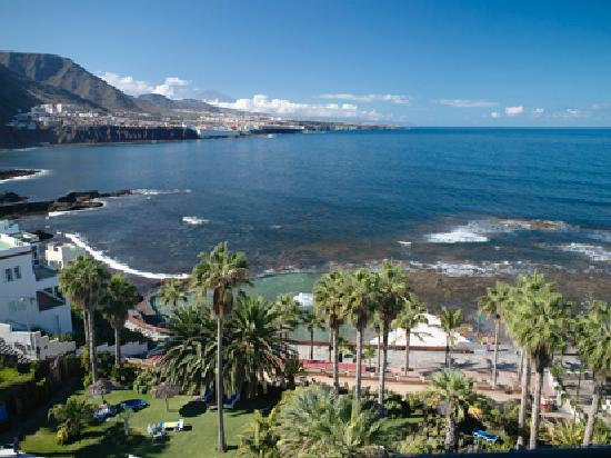 OCÉANO Hotel Health Spa: Blick vom Hotelzimmer aus