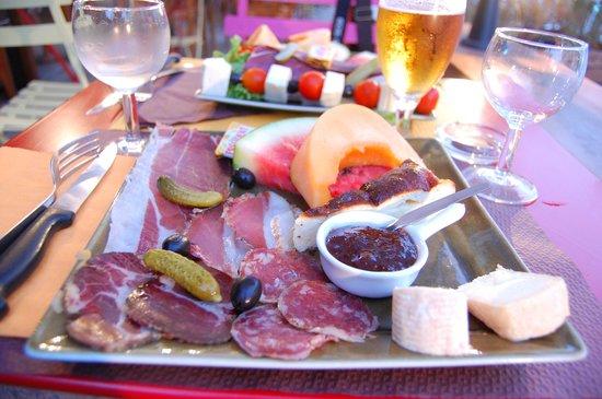 Restaurant A Volta : l'insalata di prodotti di terra corsi