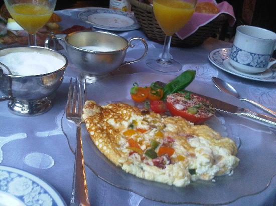 Sleepy Hollow Bed & Breakfast : SPANISH OMELET