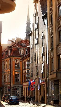 Old City Boutique Hotel Riga Latvia