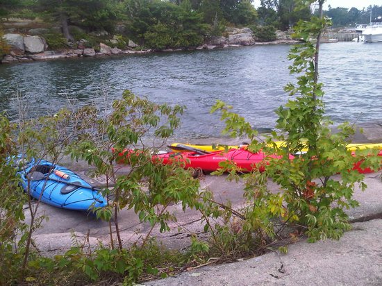 Gananoque, Canada: BREAK FOR LUNCH