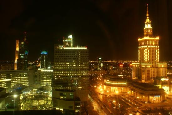 Warsaw Marriott Hotel: view from a room