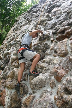 Finca-Hosteria El Retiro: Pared de Escalar