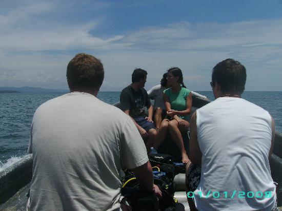 Punta Uva Dive Center: The dive boat