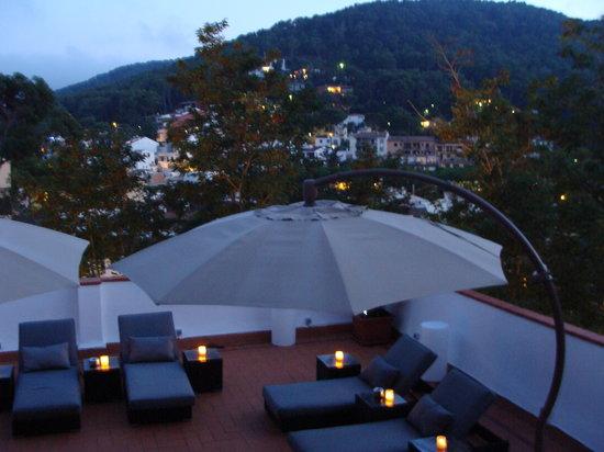 Hotel La Caleta de Tamariu: Chillout