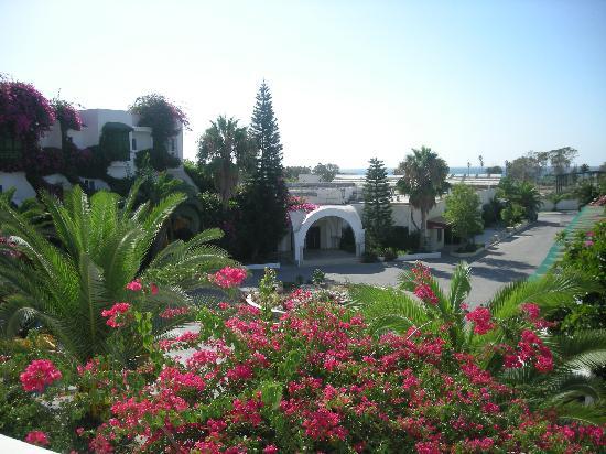Hammamet Serail: vista dalla camera