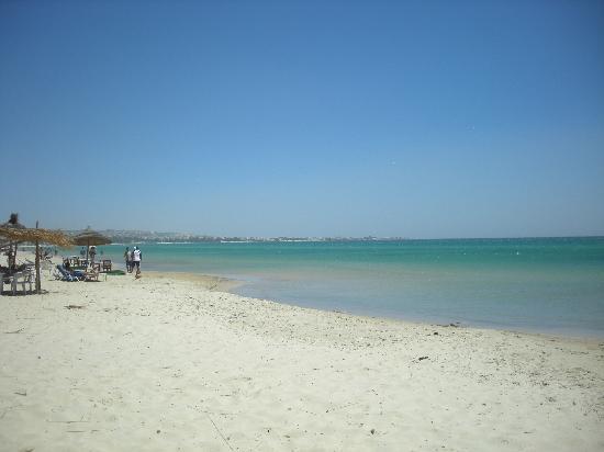 Hammamet Serail: la spiaggia