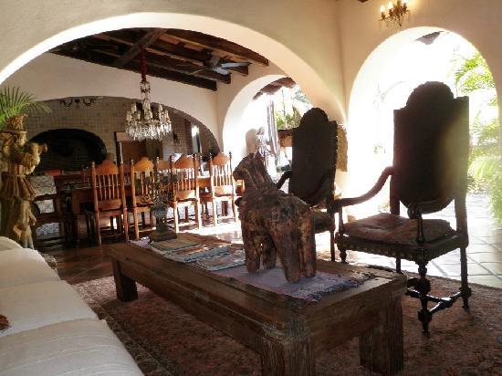 Hacienda San Angel : The main area...