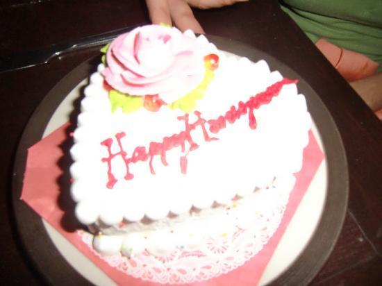โรงแรมแซนดอลวู้ด ลักซูรี่ วิลล่า: Honeymoon Cake