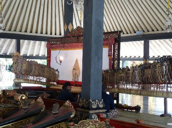 Kraton Yogyakarta: Schattentheater