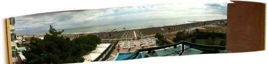 Park Hotel Brasilia: vista mare